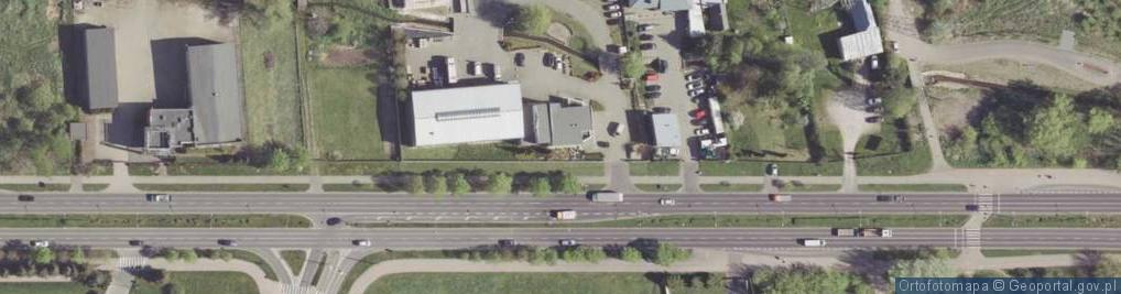 Zdjęcie satelitarne Maratońska ul.