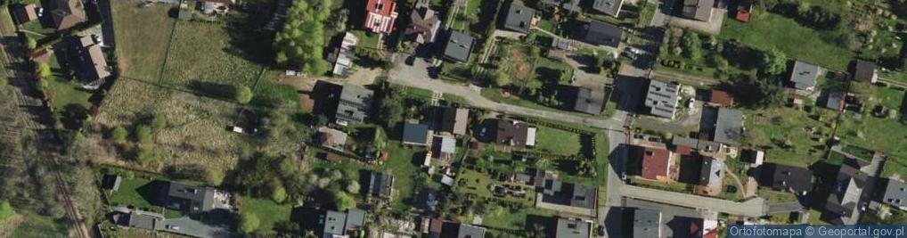 Zdjęcie satelitarne Marzanny ul.
