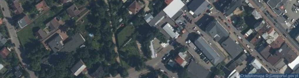 Zdjęcie satelitarne Magistracka ul.