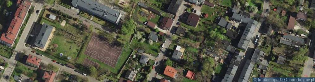 Zdjęcie satelitarne Majowa ul.