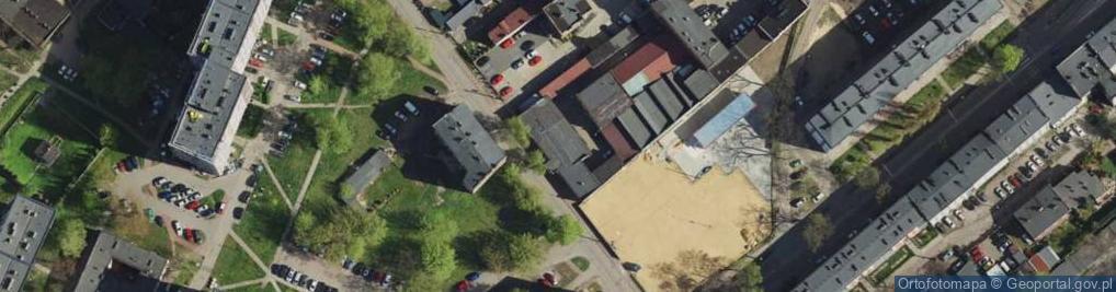 Zdjęcie satelitarne Matki Kierocińskiej Teresy ul.