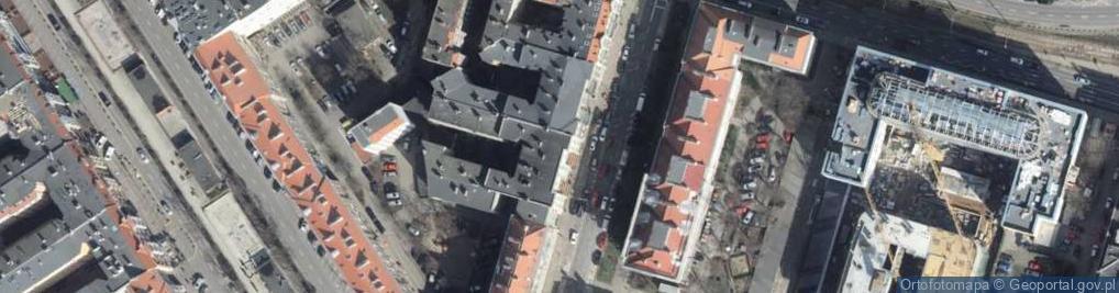 Zdjęcie satelitarne Mazurska ul.