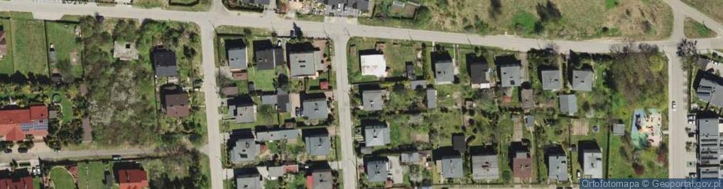 Zdjęcie satelitarne Maszynistów ul.