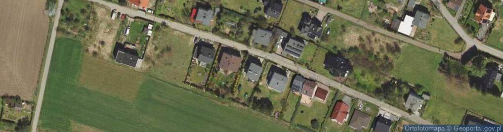 Zdjęcie satelitarne Mazowiecka ul.