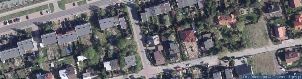 Zdjęcie satelitarne Makowa ul.