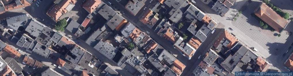 Zdjęcie satelitarne Małe Garbary ul.