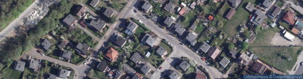 Zdjęcie satelitarne Małgorzatki ul.