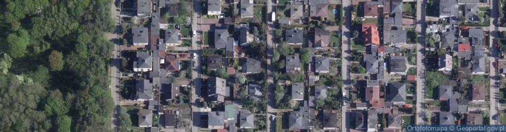Zdjęcie satelitarne Malinowa ul.