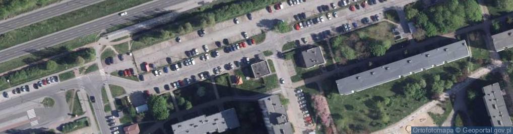 Zdjęcie satelitarne Malinowskiego Bronisława ul.