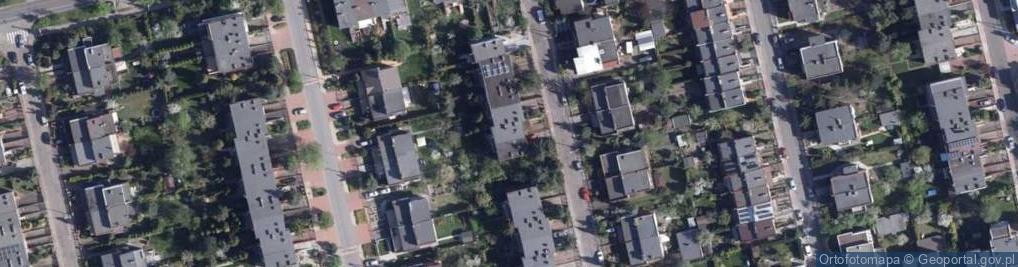 Zdjęcie satelitarne Malwowa ul.