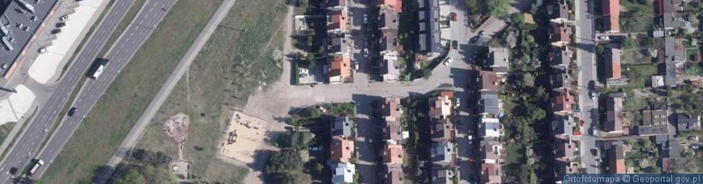 Zdjęcie satelitarne Maszynowa ul.