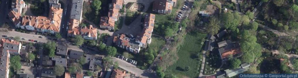 Zdjęcie satelitarne Matejki Jana ul.