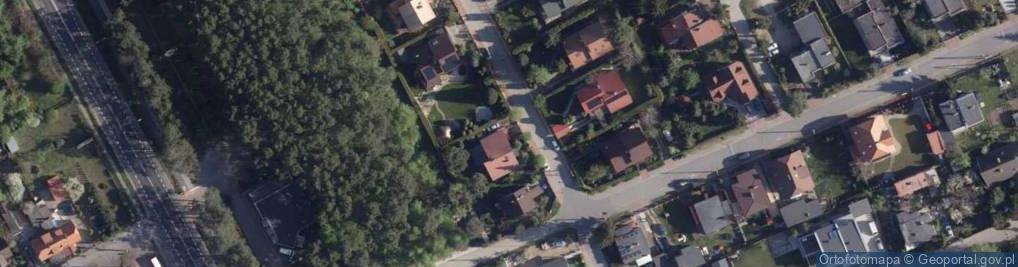 Zdjęcie satelitarne Matysiaków ul.