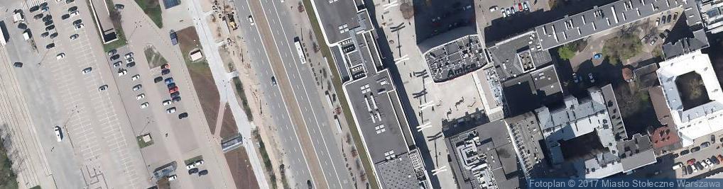 Zdjęcie satelitarne Marszałkowska ul.