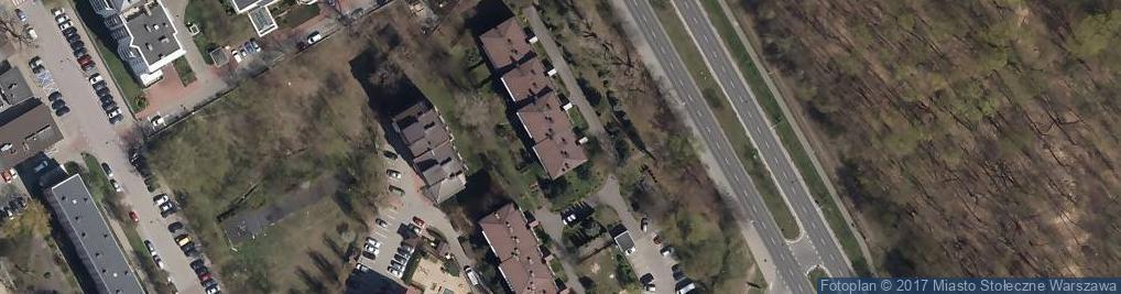 Zdjęcie satelitarne Marymoncka ul.