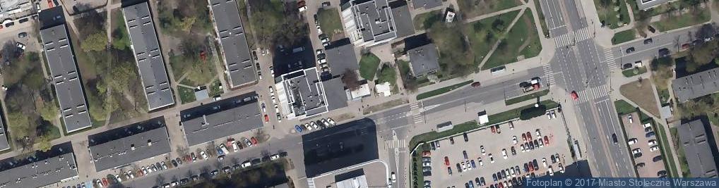 Zdjęcie satelitarne Malczewskiego Antoniego ul.