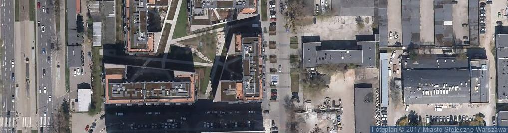 Zdjęcie satelitarne Magazynowa ul.