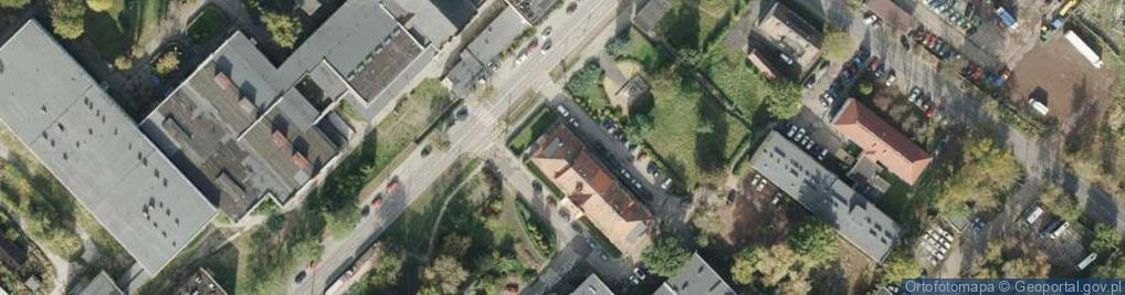 Zdjęcie satelitarne Makoszowska ul.