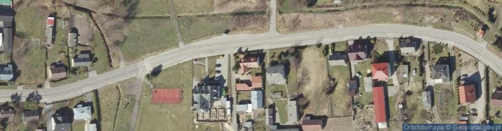 Zdjęcie satelitarne Majdan ul.