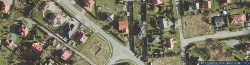 Zdjęcie satelitarne Metalowa ul.