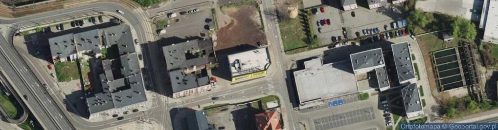 Zdjęcie satelitarne Meitzena Volkmara ul.