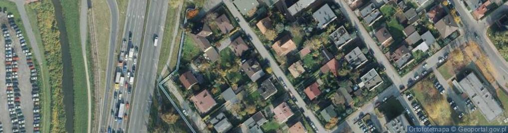 Zdjęcie satelitarne Mendelejewa Dymitra ul.