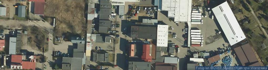 Zdjęcie satelitarne Mechaników ul.