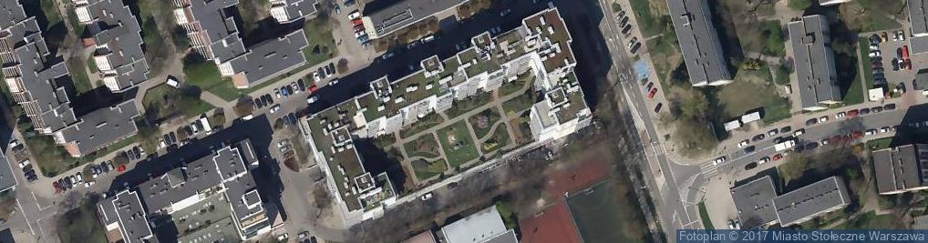 Zdjęcie satelitarne Meksykańska ul.
