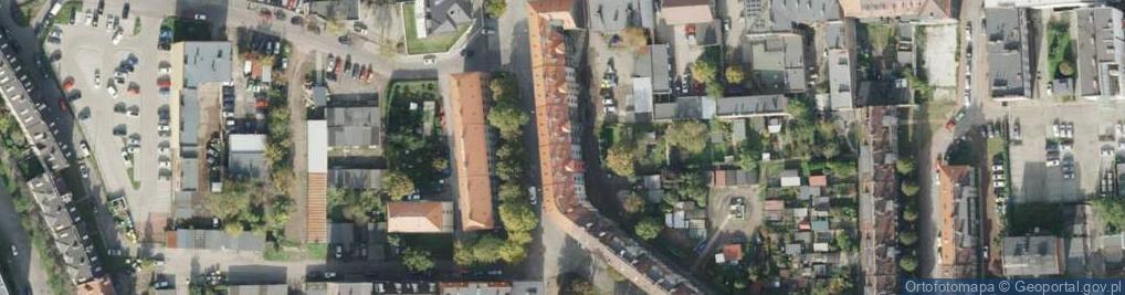 Zdjęcie satelitarne Mehoffera Józefa ul.