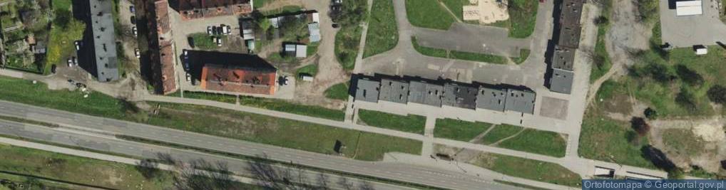 Zdjęcie satelitarne Miechowicka ul.