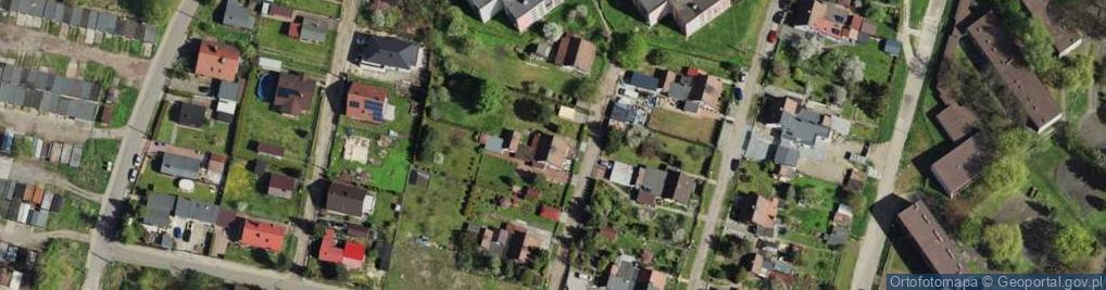 Zdjęcie satelitarne Mikołaja ul.