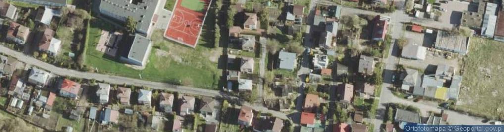 Zdjęcie satelitarne Miernicza ul.