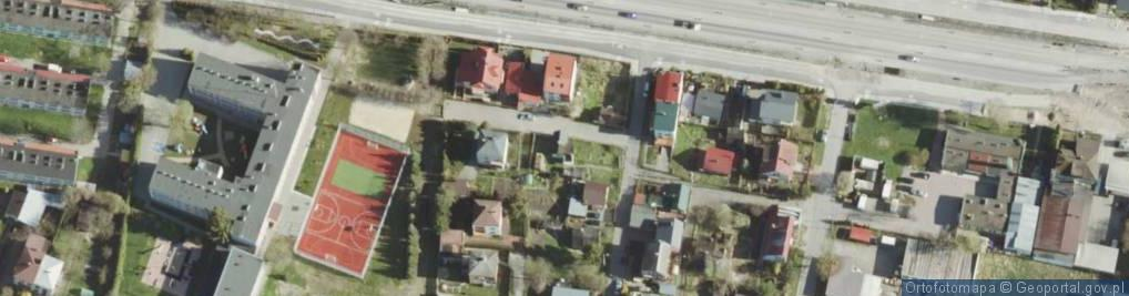 Zdjęcie satelitarne Miła ul.
