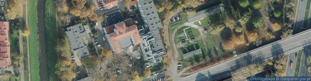 Zdjęcie satelitarne Mirowska ul.