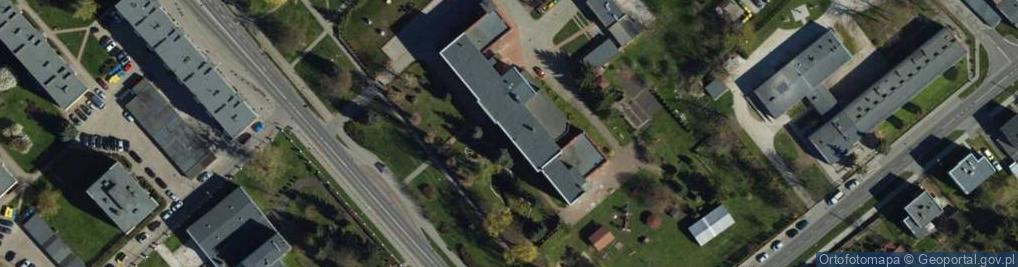 Zdjęcie satelitarne Mikołaja z Ryńska ul.