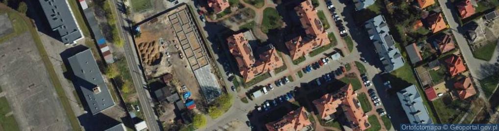 Zdjęcie satelitarne Milczewskiego-Bruna Ryszarda ul.