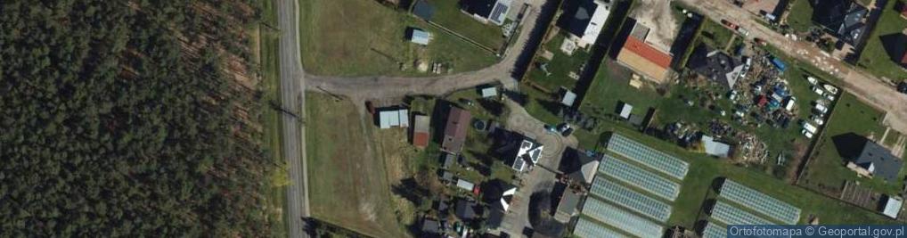 Zdjęcie satelitarne Miłoleśna ul.