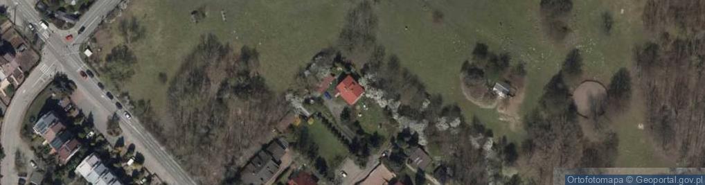 Zdjęcie satelitarne Mieczyków ul.