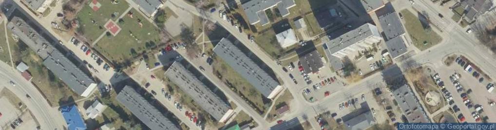 Zdjęcie satelitarne Mirandoli Pika ul.