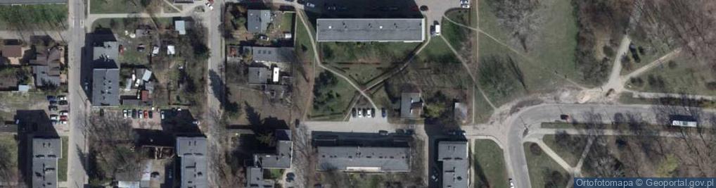 Zdjęcie satelitarne Mianowskiego Józefa ul.