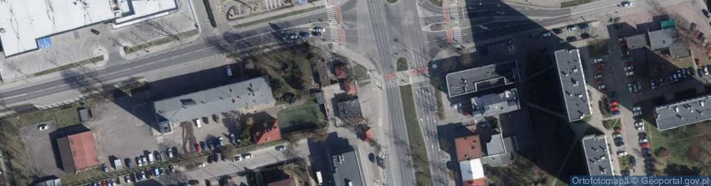 Zdjęcie satelitarne Michała ul.