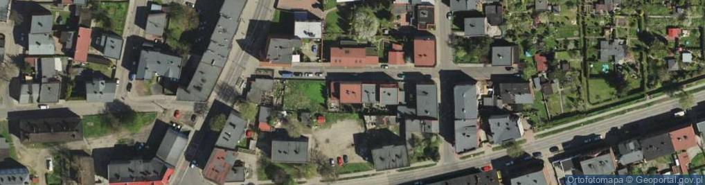 Zdjęcie satelitarne Mielęckiego Józefa ul.