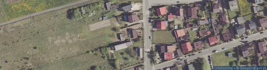 Zdjęcie satelitarne Milejowicka ul.