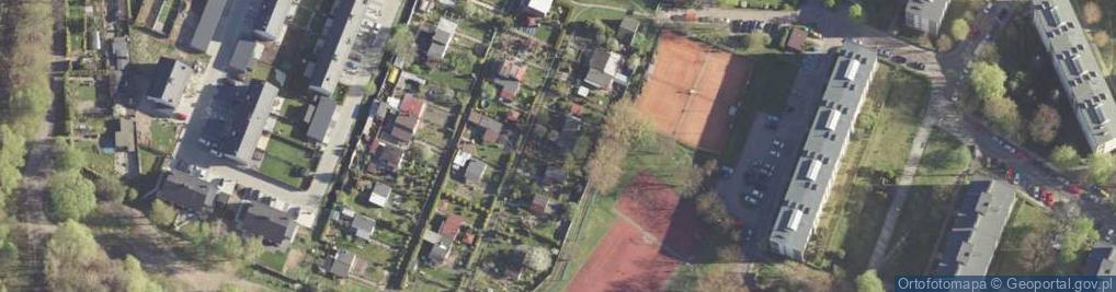 Zdjęcie satelitarne Miejska ul.
