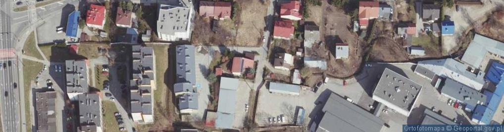 Zdjęcie satelitarne Miedziana ul.