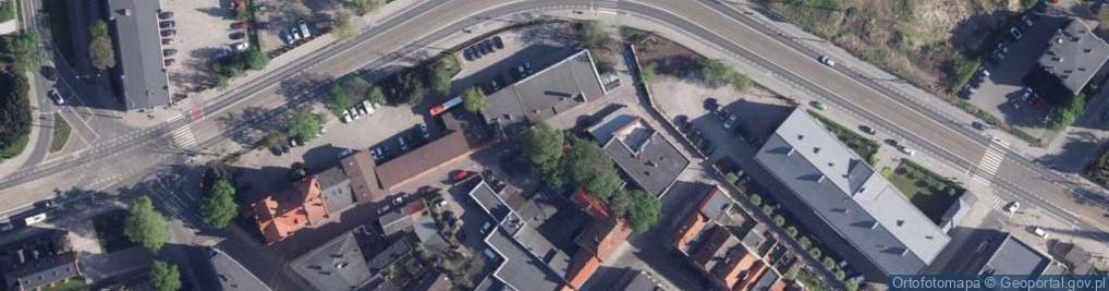 Zdjęcie satelitarne Międzymurze ul.