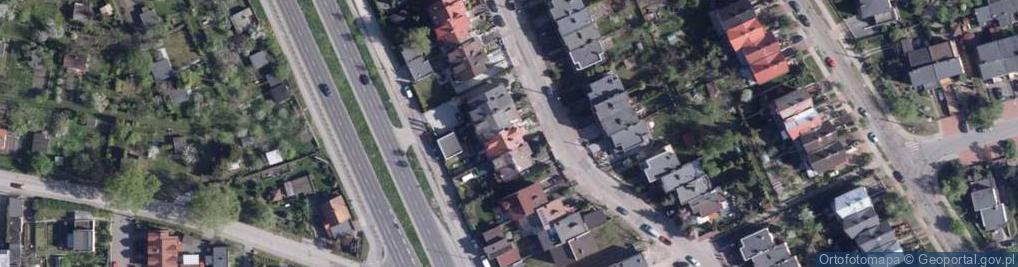 Zdjęcie satelitarne Migdałowa ul.