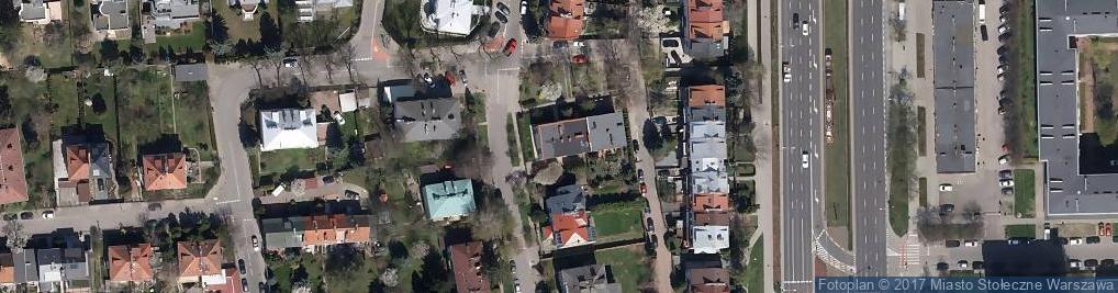 Zdjęcie satelitarne Miączyńska ul.
