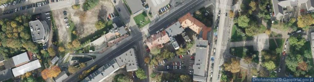 Zdjęcie satelitarne Miarki Karola ul.