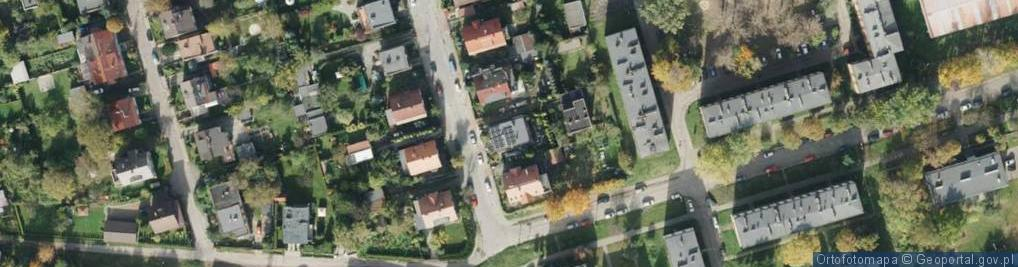 Zdjęcie satelitarne Michała Archanioła ul.